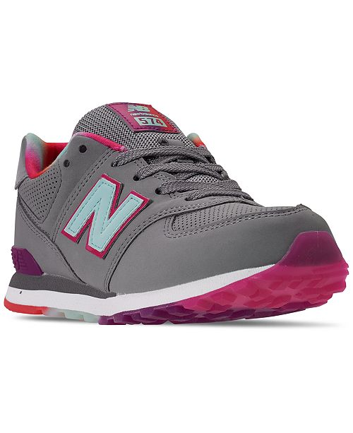New Balance Girls 574 Casual Sneakers from Finish Line