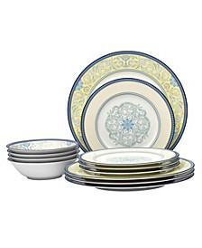 Menorca Palace  12-PC Dinnerware Set