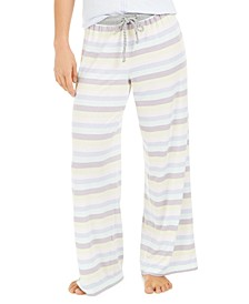 Women's Striped Pajama Pants, Online Only