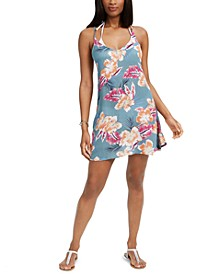 Juniors' Be in Love Hibiscus Cover-Up