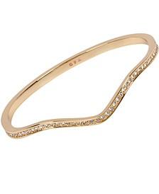 18k Gold Plated Zig Zag Bracelet