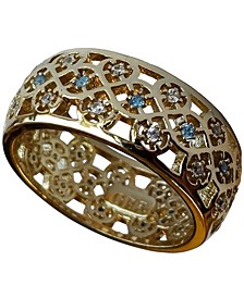 18k Gold Plated Scandinavian Wedding Ring