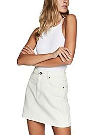 The Classic Denim Skirt