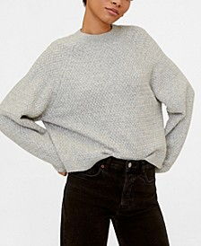 Long Raglan Sleeve Sweater