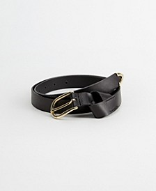 Buckle Leather Belt