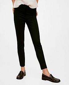Elastic Suit Pants