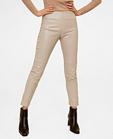 Seam-Detail Slim-Fit Trousers