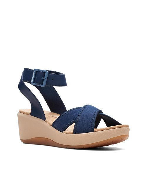 Clarks Cloudsteppers Women's Step CaliCoast Wedge Sandals