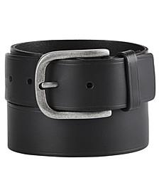 Heat-Pressed Leather Belt