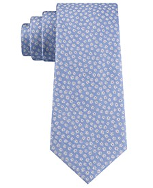 Men's Mini-Floral Tie