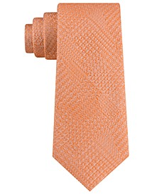 Men's Textured Glencheck Tie