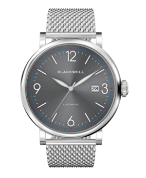 Sunray Gray Dial with Silver Tone Steel and Silver Tone Steel Mesh Watch 44 mm
