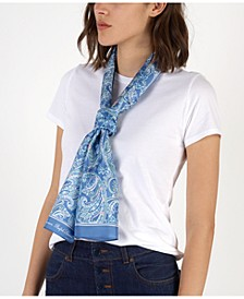 Christina Silk Oblong Scarf