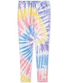 Big Girls Tie-Dye Stretch Jersey Leggings