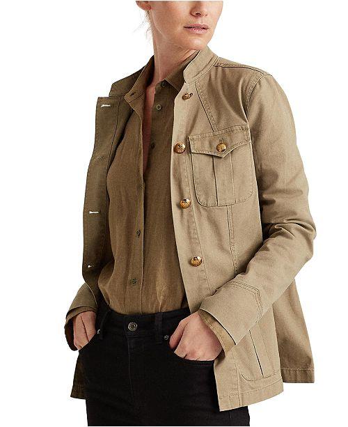 Lauren Ralph Lauren Utilitarian-Inspired Jacket