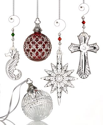 Waterford Crystal 2013 Christmas Ornaments Collection ...