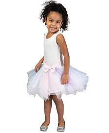 Little Girls Fairy-Hem Tutu Dress