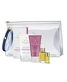 Renew and Nourish Rose Edit 5-Piece Travel Set