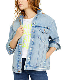 Calvin Klein Jeans Oversized Denim Trucker Jacket