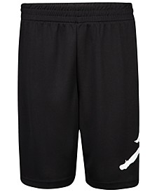 Big Boys Jumpman Wrap Logo Mesh Shorts