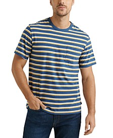 Men's Sunset Stripe Pocket T-Shirt