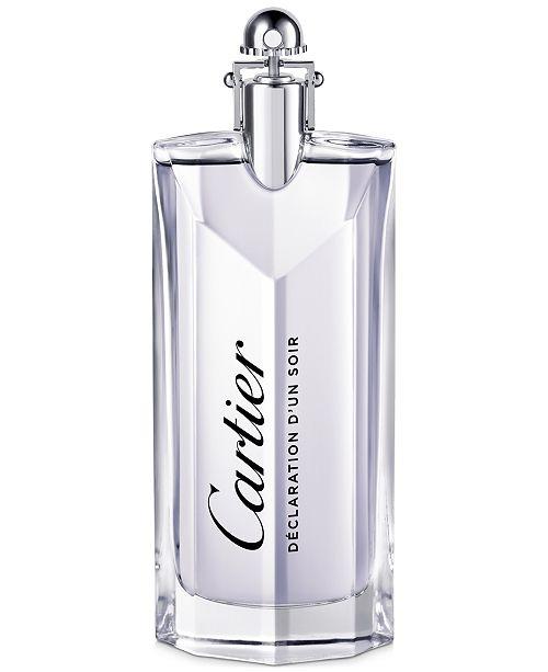 Cartier Déclaration d'un Soir Men's Eau de Toilette Spray, 3.3 oz
