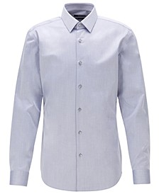 BOSS Men's Isko Navy Shirt