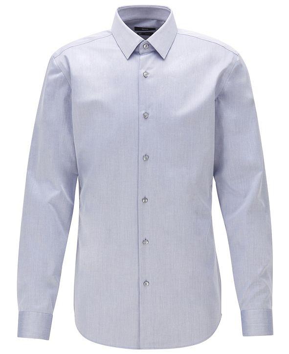 Hugo Boss BOSS Men's Isko Navy Shirt