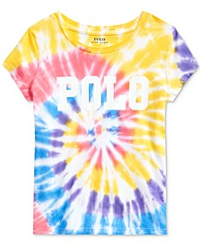 Big Girls Tie-Dyed Cotton Jersey T-Shirt