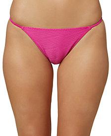O'Neill Juniors' Textured Hipster Bikini Bottoms
