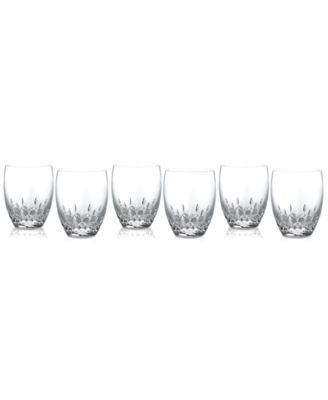 Barware, Lismore Essence Double Old Fashioned Glasses, Set of 6