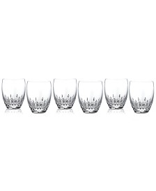 Waterford Barware, Lismore Essence Double Old Fashioned Glasses, Set of 6
