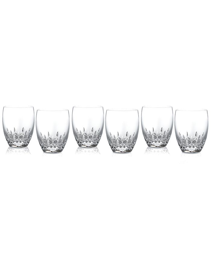 Waterford - Set of 6 Lismore Essence Double Old Fashioned Glasses