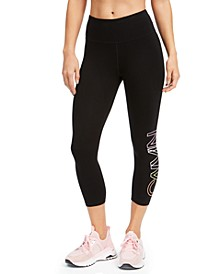 Logo High-Waist Cropped Leggings