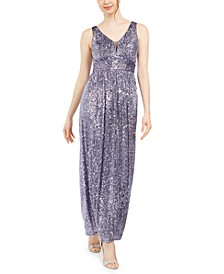Petite Sequinned Gown