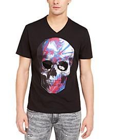 INC Men's Skull Graphic T-Shirt, Created for Macy's