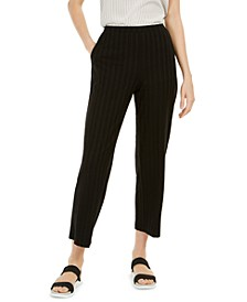 Straight-Leg Ankle Pants, Regular & Petite Sizes
