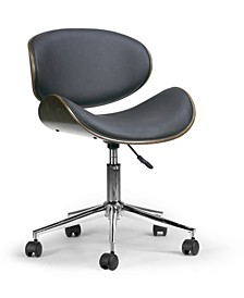 Amar Modern Office Chair with Plywood Bentwood Frame