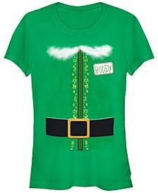 Elf Buddy The Elf Costume Women's Short Sleeve T-Shirt