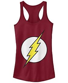 DC The Flash Classic Lightning Bolt Logo Women's Racerback Tank