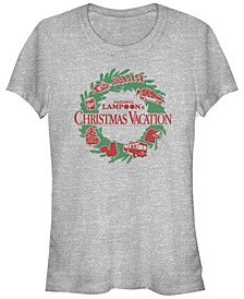 National Lampoon's Christmas Vacation Wreath Icons Women's Short Sleeve T-Shirt
