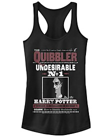 Harry Potter The Quibbler Undesirable Number One Poster Women's Racerback Tank