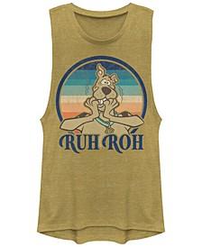 Scooby-Doo Ruh Roh Sunset Festival Muscle Women's Tank