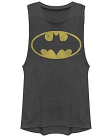 DC Batman Classic Oval Logo Festival Muscle Women's Tank