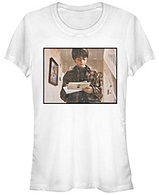 Harry Potter Hogwarts Letter Portrait Women's Short Sleeve T-Shirt