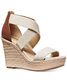 Prue Espadrille Wedge Sandals