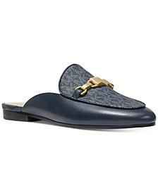 Michael Michael Kors Charlton Signature Logo Loafer Slides