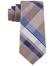 Men's Classic Block Plaid Tie
