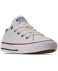 Little Girls' Little Miss Chuck Taylor All Star Low Casual Sneakers from Finish Line