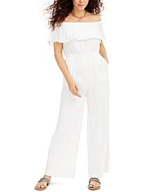 Off-The-Shoulder Jumpsuit, Created for Macys
